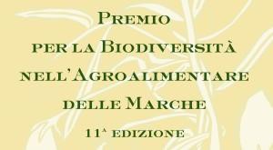 Premio Biodiversità nell'Agroalimentare delle Marche – Amandola 20 novembre 2016