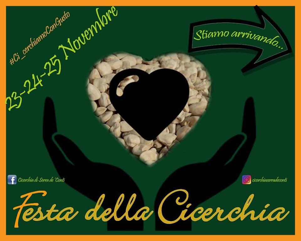Dal 23 al 25 novembre torna… la Festa della Cicerchia!